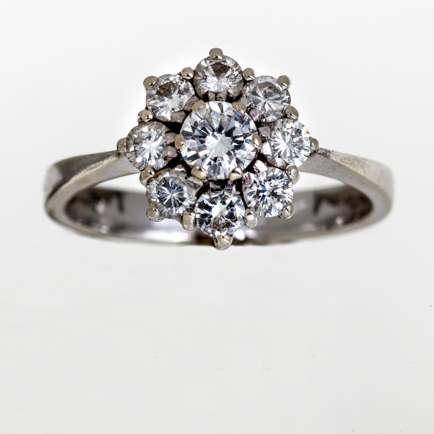 Diamond Ring | White Gold | Austria