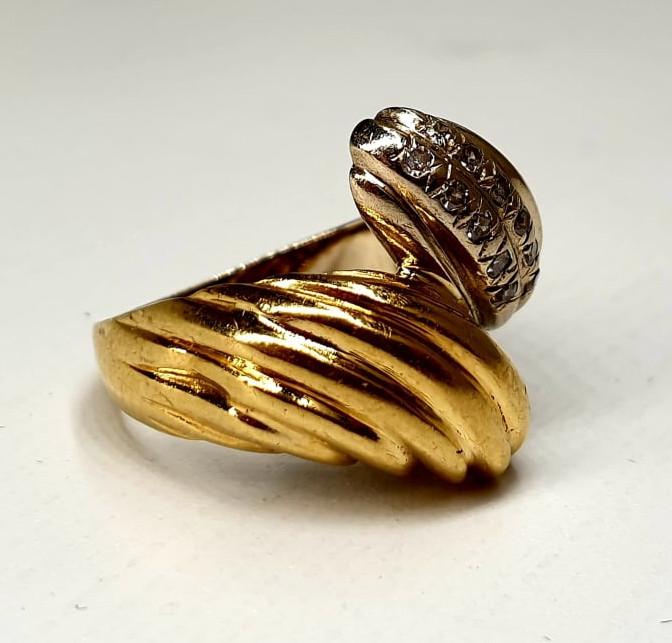 Ring   Bicolor   18K   Diamond