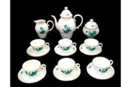 AugarteAugarten | Maria Theresia | 17 Piece Coffee Set