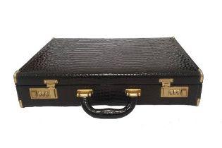 Crocodile Leather | Briefcase