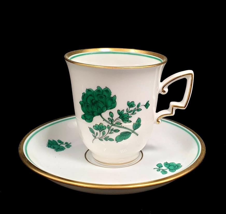 Augarten   18 Piece Mocca Set   Rare Form Nr. 75 - Image 5 of 7