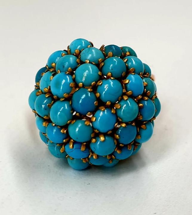 Turquoise | Ring | 14k - Image 2 of 5