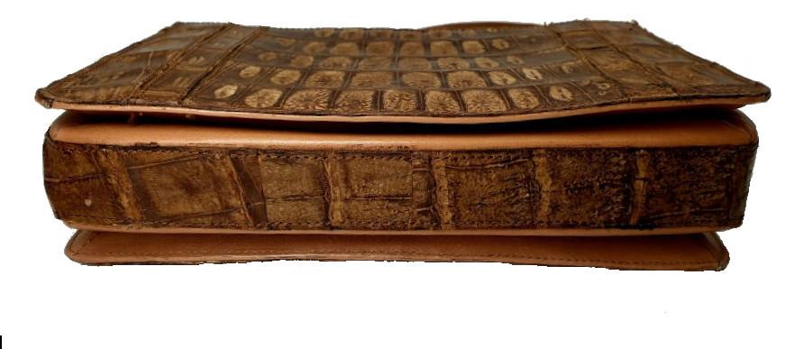 Brown Croco Handbag - Image 5 of 8