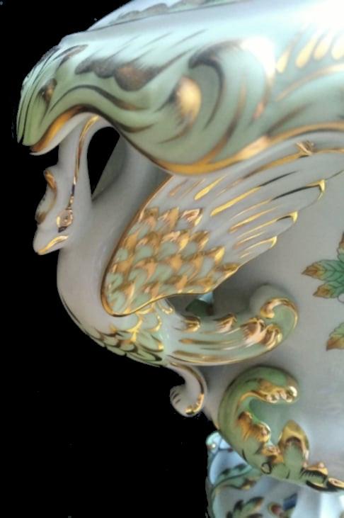 Herend   Monumental Vase   Victoria - Image 5 of 7