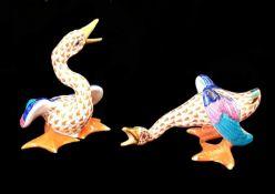Herend |Pair of Geese