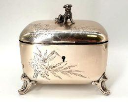 Austrian Silver Trinket   Gedlitzka   Dog