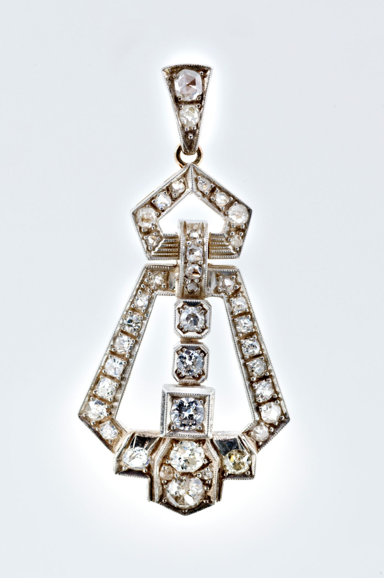 Diamond Pendant | Art - Deco - Image 2 of 5