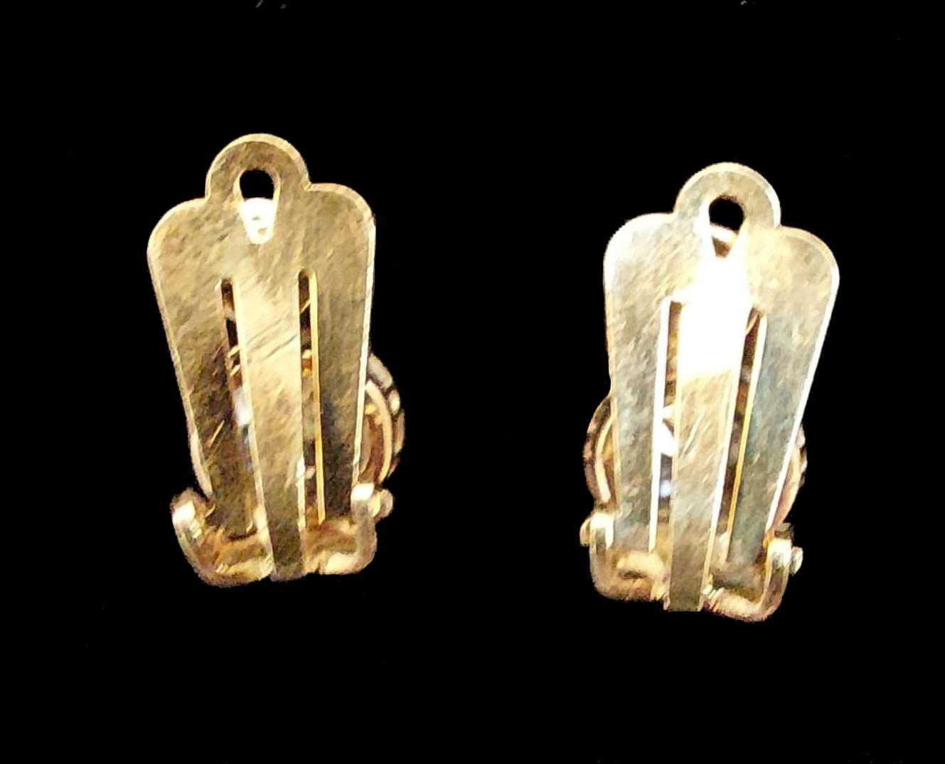 Peruzzi Cut | Diamond | Clip Earrings | 4ct - Image 5 of 5