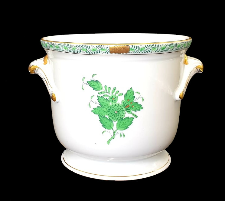 Herend   Apponyi Green   Cache Pot