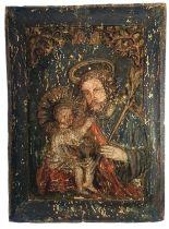 Carved Icon   St. Joseph
