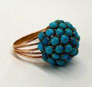 Turquoise | Ring | 14k