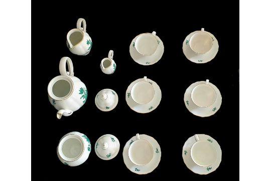 Augarten |18 Piece Mocca Set | Maria Theresia - Image 2 of 7