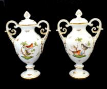 Herend | Large Vases | Rothschild Bird