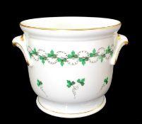 Herend Pot | Cache Pot | Parsley