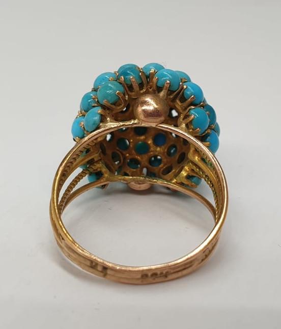 Turquoise | Ring | 14k - Image 4 of 5