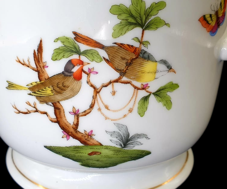 Herend | Cache Pot | Rothschild Bird - Image 2 of 7