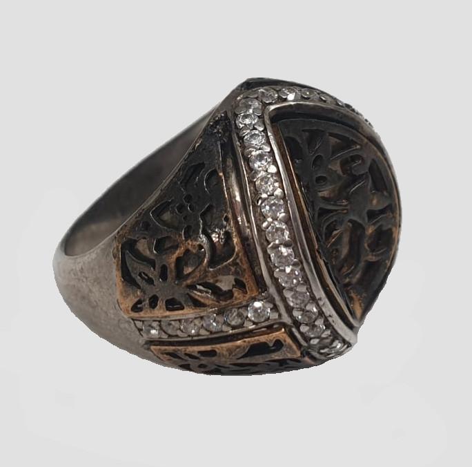 2x Silver Rings   Rose Quarz - Image 4 of 7