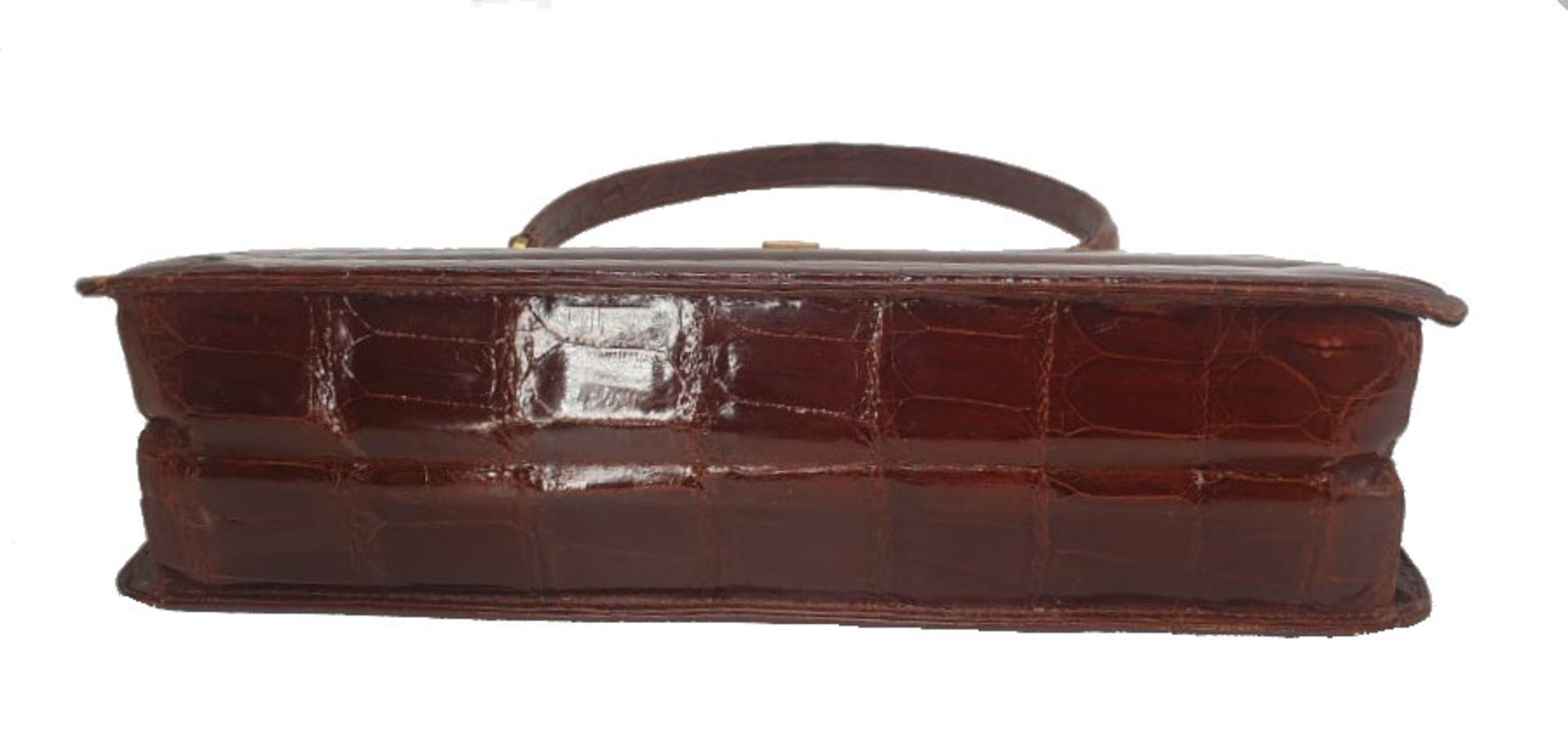 Crocodile Bag | Maroon - Image 6 of 8