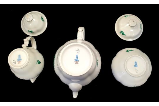 AugarteAugarten   Maria Theresia   17 Piece Coffee Set - Image 4 of 6