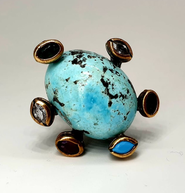 Silver Ring   Turquoise - Image 4 of 4