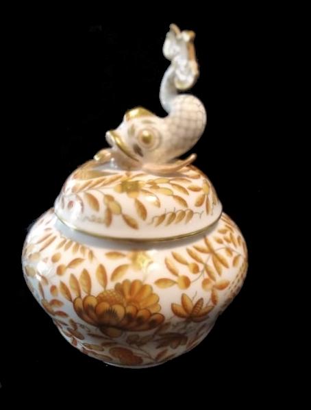 Herend | Lidded Jar