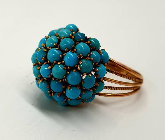 Turquoise | Ring | 14k - Image 3 of 5