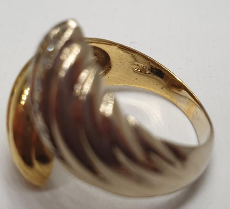 Ring   Bicolor   18K   Diamond - Image 3 of 4
