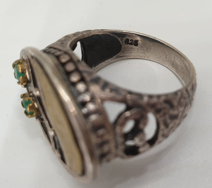 2x Silver Rings   925 - Image 4 of 7