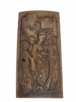 St. Ursula | Carved Panel | Gothic