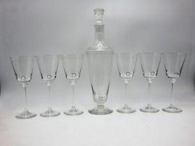 Carlo Nason | Decanter & 6 Glasses
