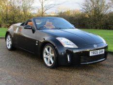2005 Nissan 350Z Convertible 54,994 miles from new