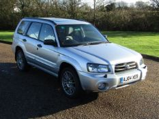 2004 Subaru Forester 2,900 Miles From New