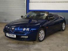 2001 Alfa Romeo Spider 3 Litre V6