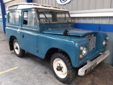 1969 Land Rover Series II SWB