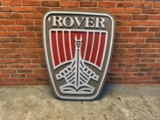 Original Rover Dealership Showroom Sign