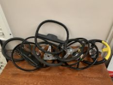A collection of assorted Classic Car Steering Wheels
