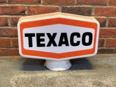 Original Texaco Petrol Globe