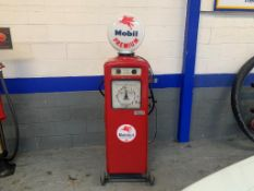 Beckmeter Mobiloil Shot Delivery Petrol Pump