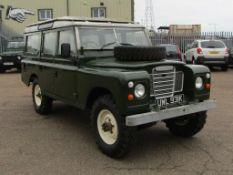 1972 Land Rover Series III 109 Station Wagon