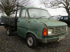 1984 Ford Transit Pick-Up MK II