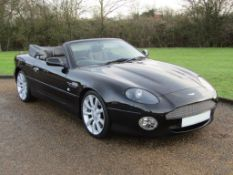 2003 Aston Martin DB7 Vantage Volante Keswick Edition Auto