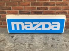 Mazda Illuminated Light Box