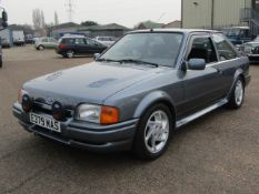 1988 Ford Escort RS Turbo LHD