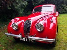 1953 Jaguar XK120 3.4 FHC