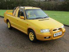 2000 Skoda Felicia Fun Pick-Up 10,308 miles from new