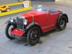 1930 MG M Type