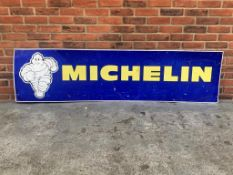 Michelin Tin Advertising Sign