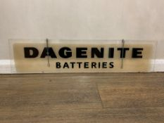 Dagenite Batteries Perspex Dealership Sign