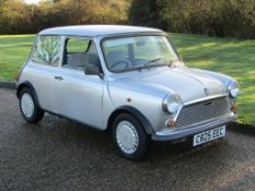 1986 Austin Mini 1000 Mayfair 7,909 miles from new