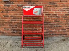 Motorcraft Battery Display Stand